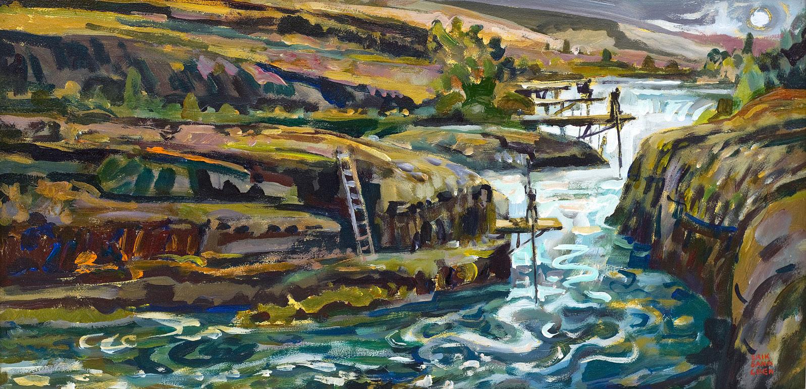 Erik Sandgren's winning painting