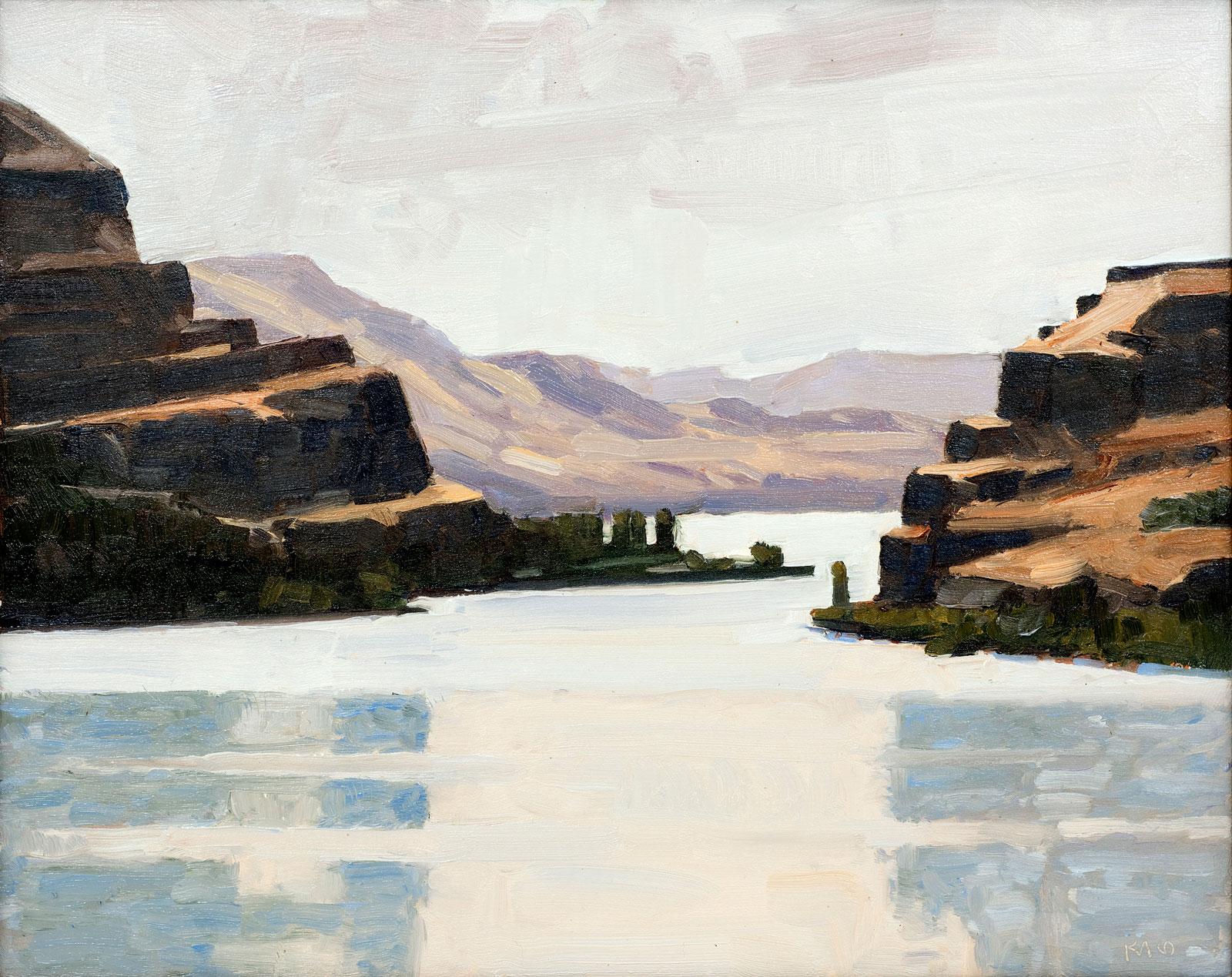 Ken Klos' winning painting