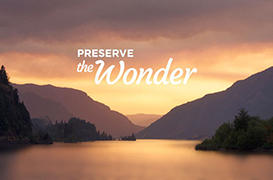 Preserve the Wonder: Together, We Did It
