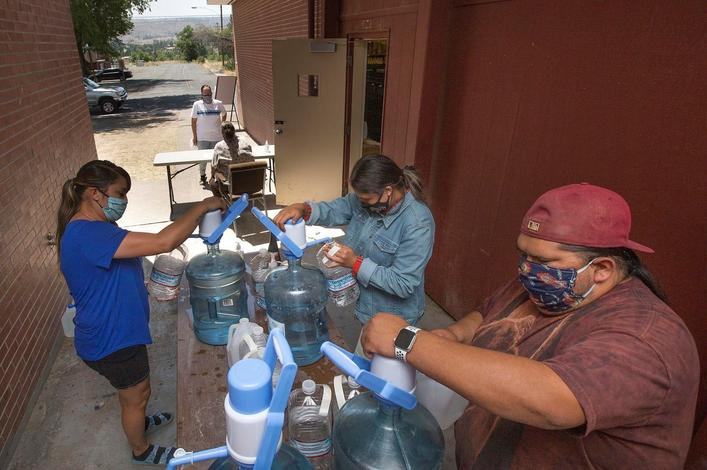 Chúush: Water for Warm Springs Campaign