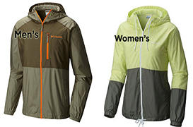 Columbia Sportswear Windbreaker