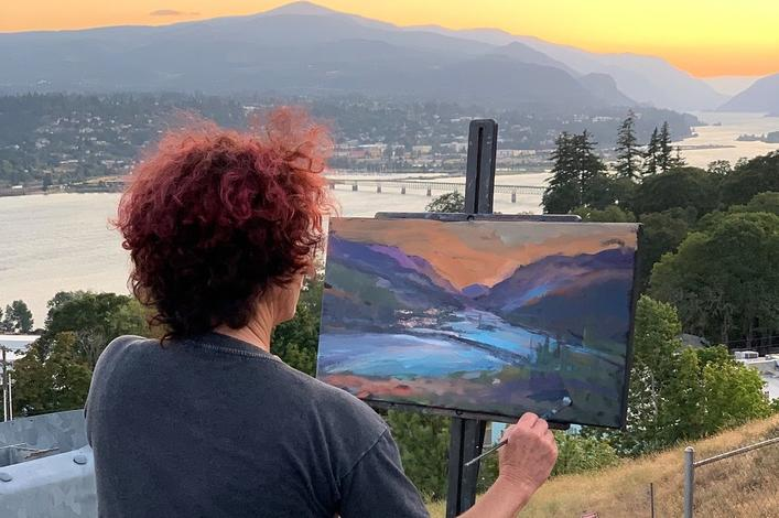 Friends and Maryhill Museum's Plein Air Partnership