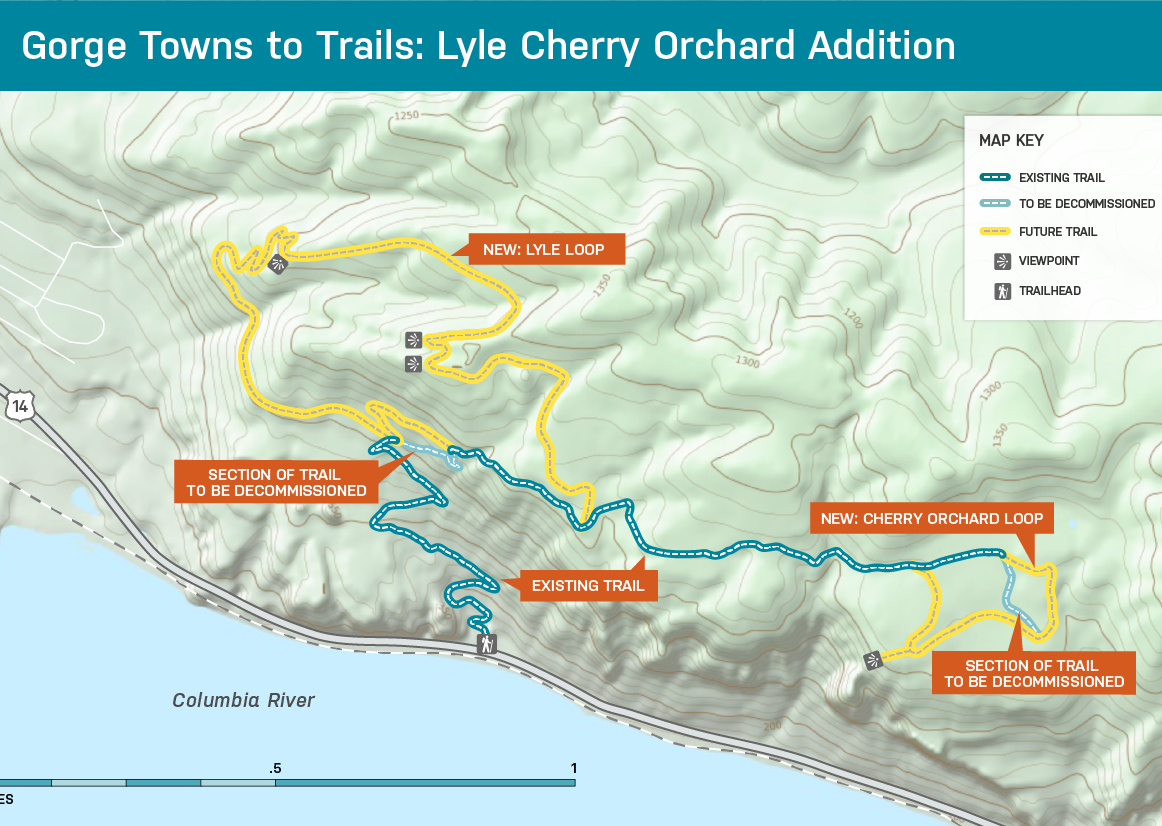 Lyle Cherry Orchard Trail Building Work Party, WA