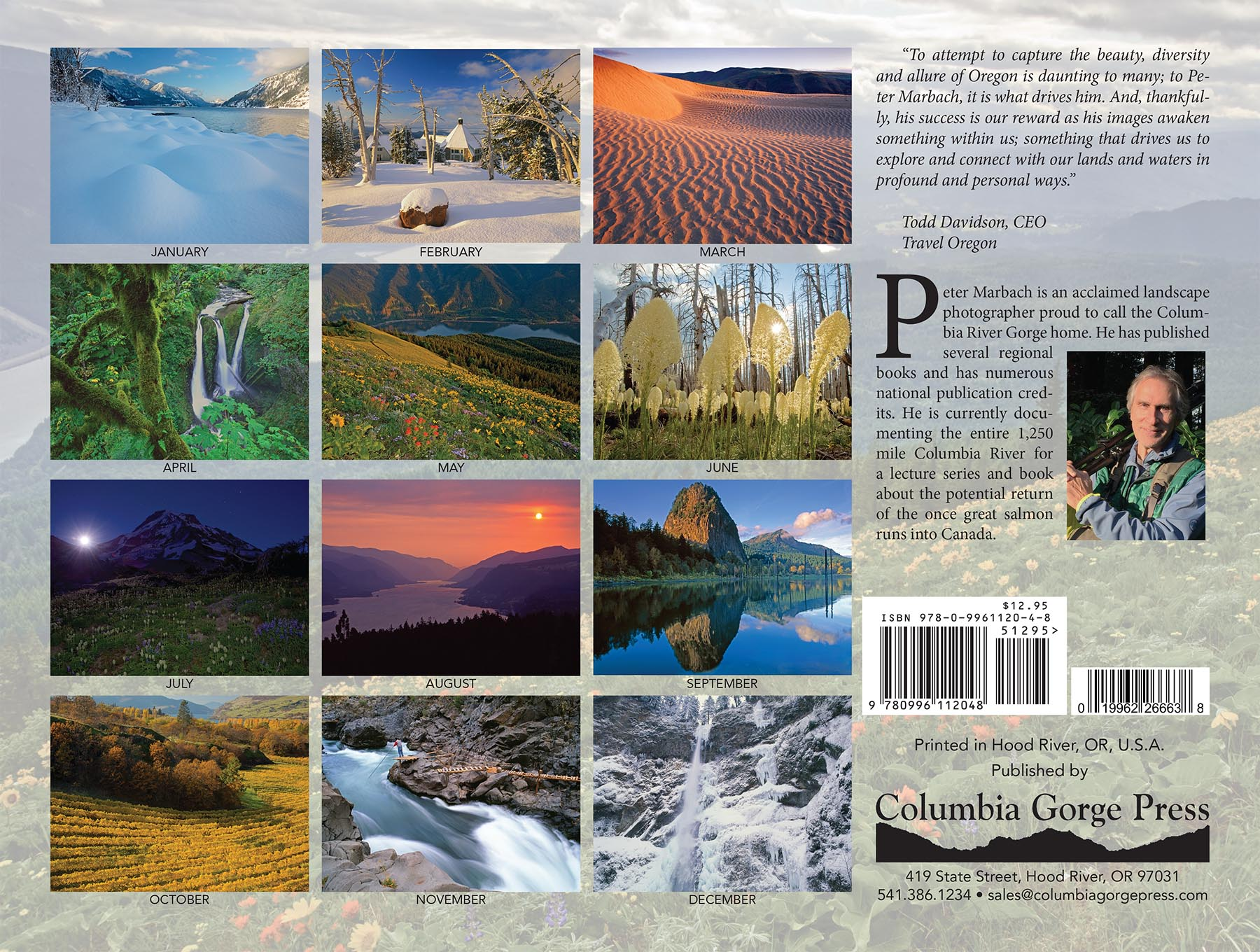 2018 Columbia Gorge Wall Calendar | Friends of the Columbia Gorge