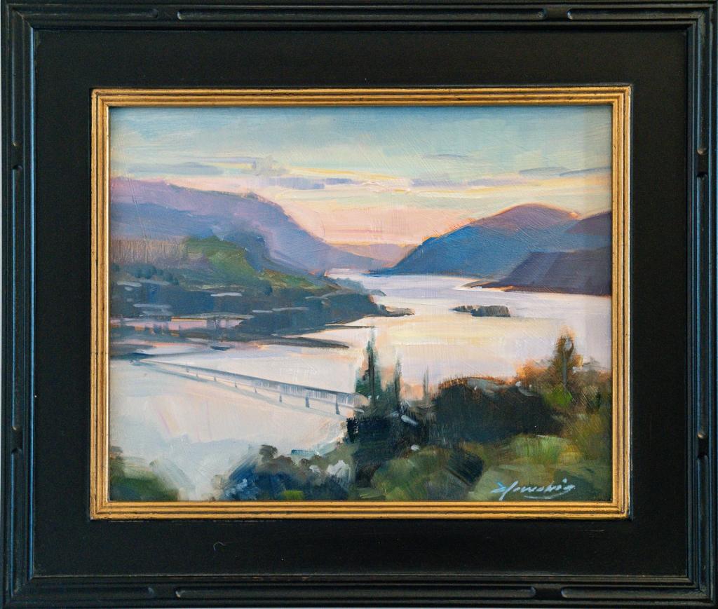 Elo Wobig's winning painting