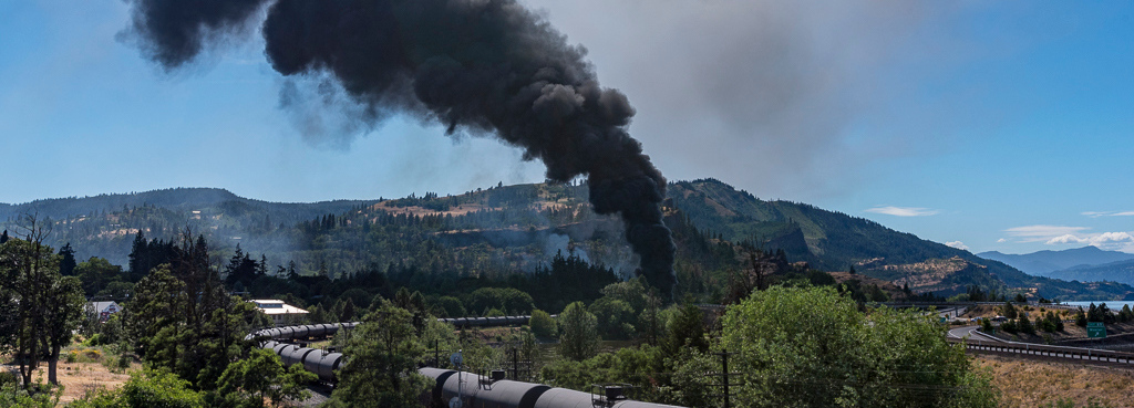 How Oregon Passed a Historic Oil Train Spill Response Bill