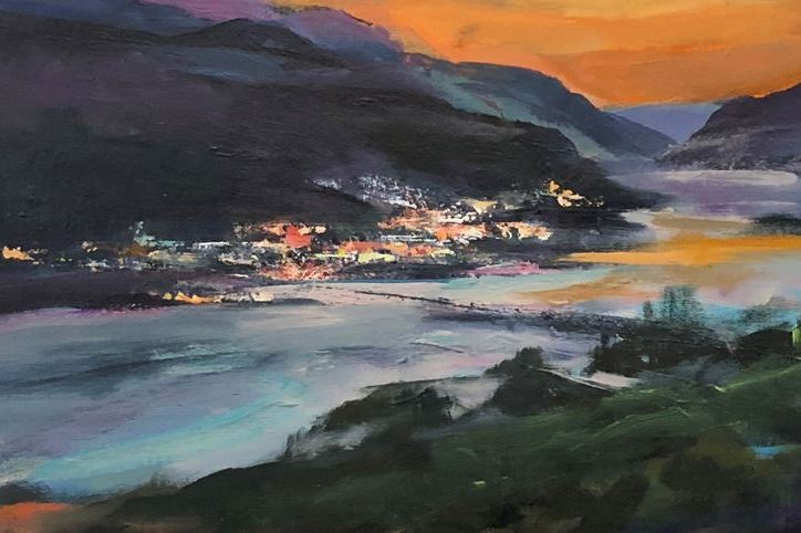 Kitsap Sun: 'Plein Air' Art Captures Beauty of Columbia Gorge