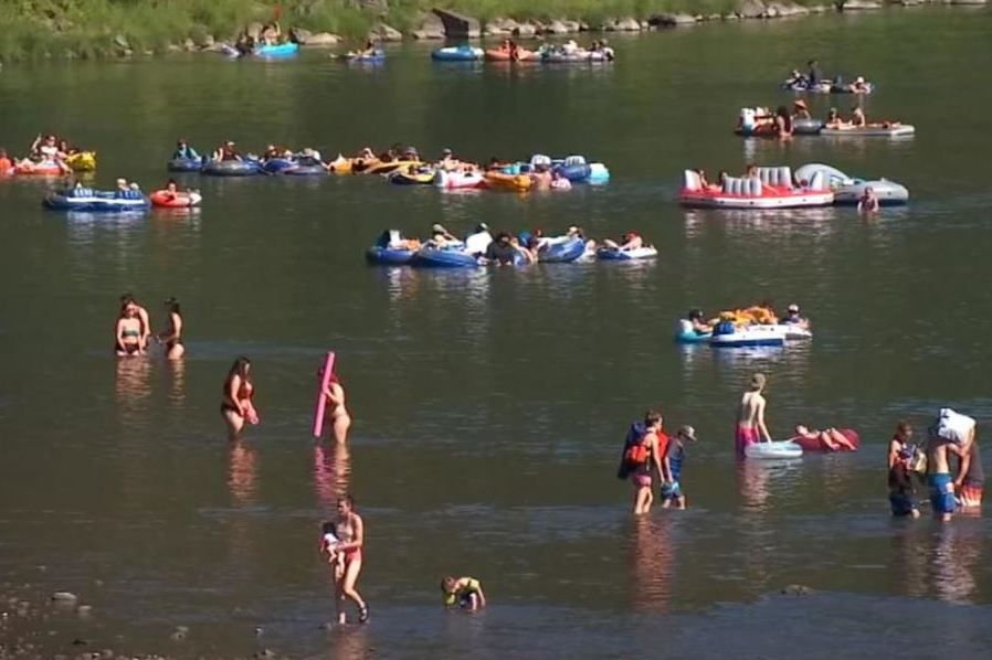 KPTV: Summer Temps Bring Out Summer  Crowds in the Columbia River Gorge