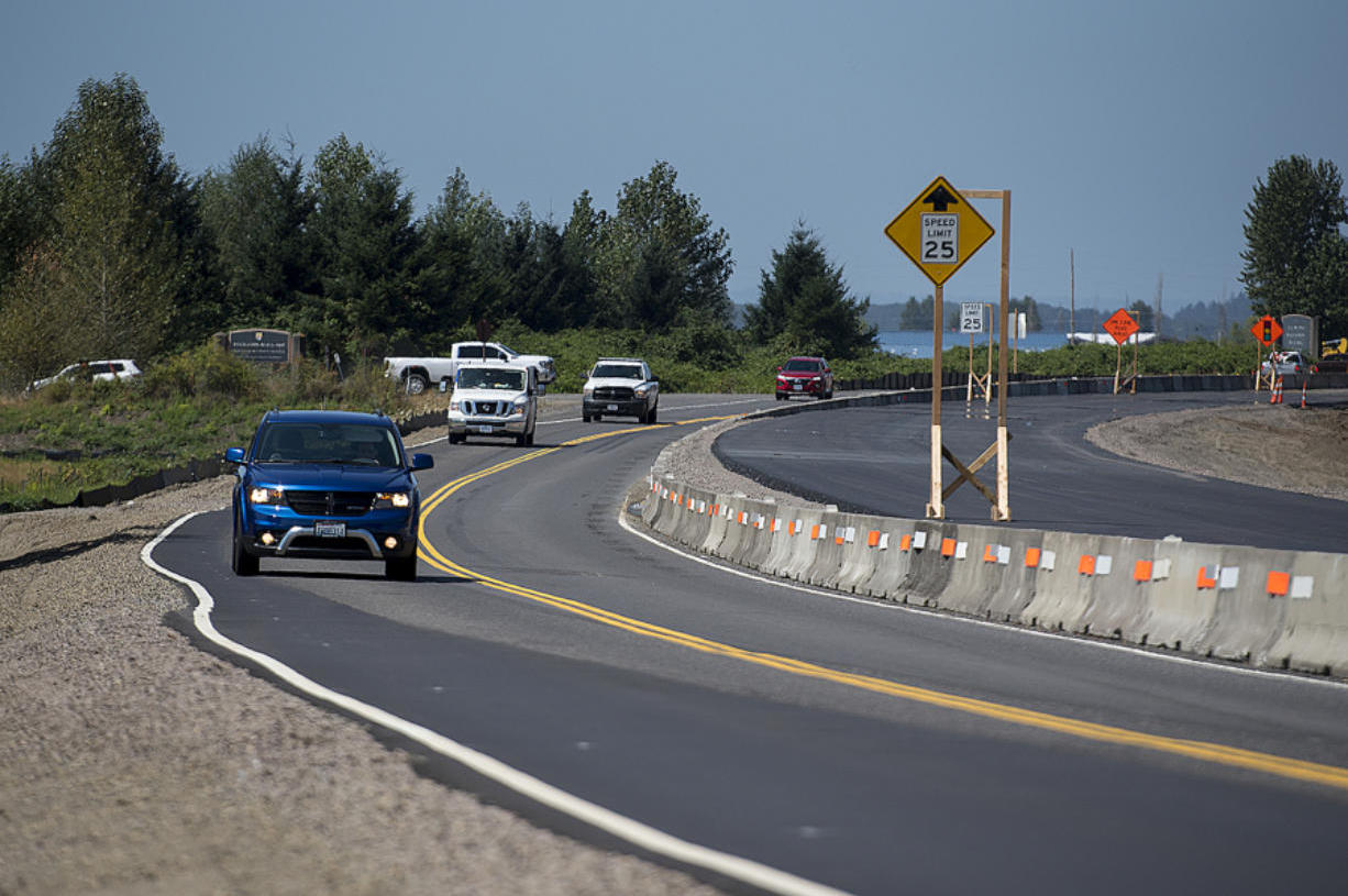 The Columbian: Crews Raise Hwy 14 As Part of Work to Restore Steigerwald Floodplain