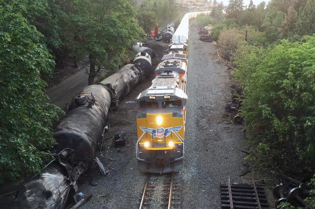 NRDC: The Bomb Train Derailment That Sparked a Resistance in the Gorge