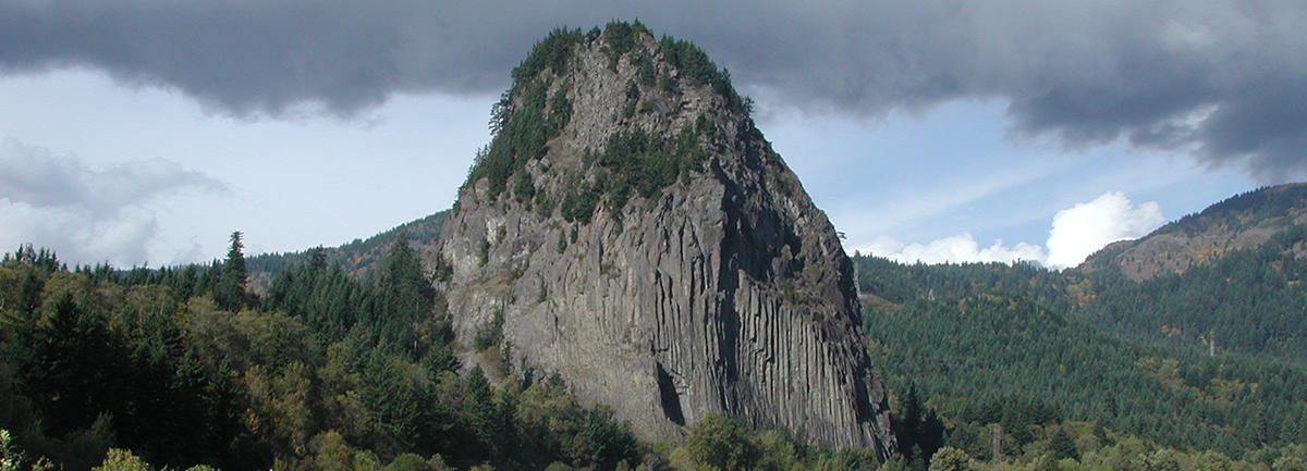 Beacon Rock Geology Hike, WA