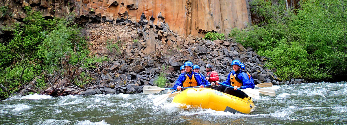 Full-Day Klickitat River Whitewater Rafting, WA