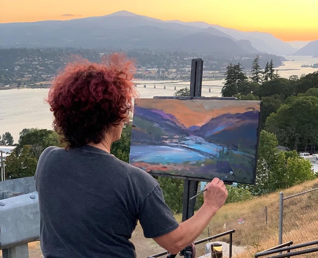 Lilli-ann Price painting