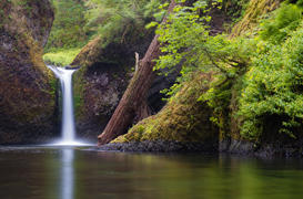 Eagle Creek to Punchbowl Falls
