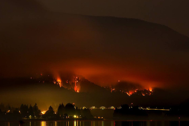 Friends Responds to Eagle Creek Fire Outbreak