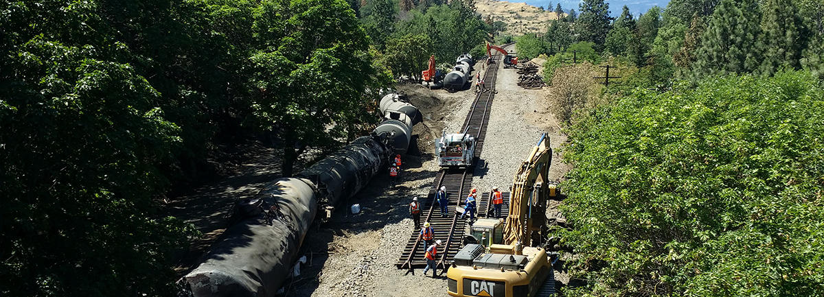 PRESS RELEASE: Experts Say Rail Expansion in Mosier, OR Could Double Rail Traffic Through Gorge