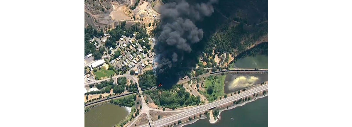 PRESS RELEASE: As Mosier Oil Train Derailment Unfolds, Union Pacific Works to Expand Oil-by-Rail in the Columbia Gorge