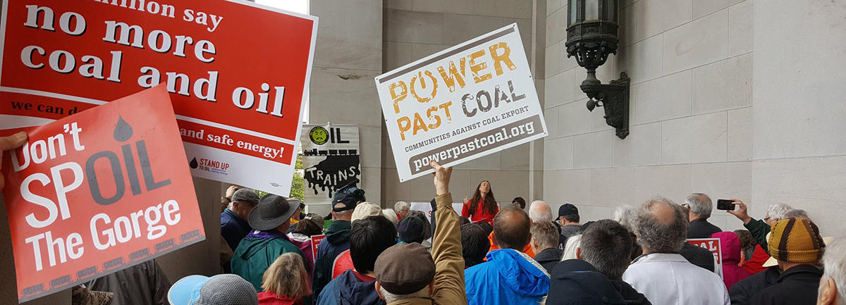 Friends, Coalition Partners Deliver 1.3 Million Comments Against Coal and Oil Transport
