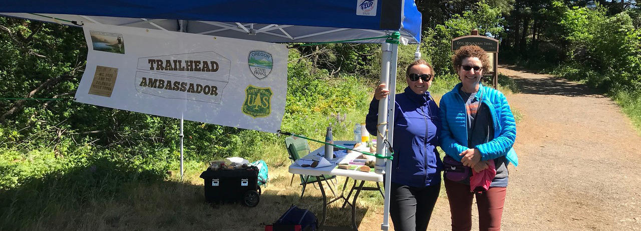 Trailhead Ambassadors Celebrate Earth Day Weekend on the Trails