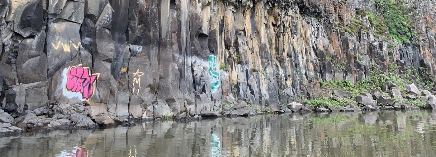Friends of the Columbia Gorge Condemns Recent Cape Horn Cliff Vandalism