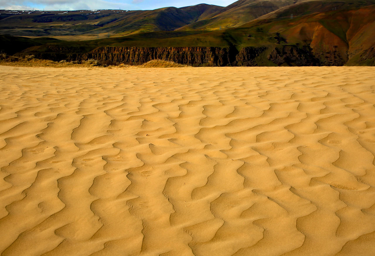 (Hon. Mention) Scenic Eastern Gorge- Lois Bancroft: Sand Dunes